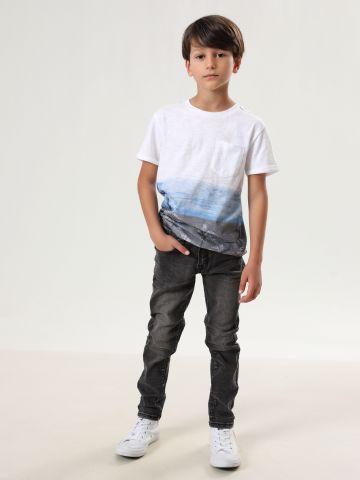 ג'ינס סקיני סטרץ' ווש של AMERICAN EAGLE