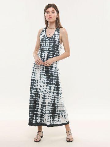 שמלת מקסי טאי דאי