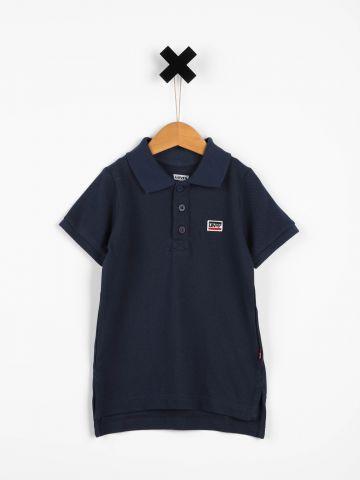 חולצת פולו עם פאץ' לוגו / בנים