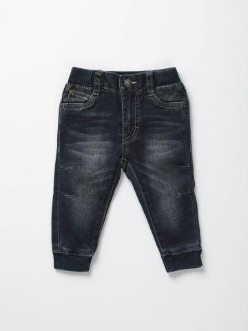 ג'ינס שפשופים עם גומי / בייבי בנים