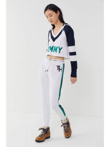 מכנסי טרנינג לוגו עם סטריפים Tommy Hilfiger