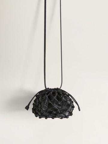 תיק באקט חגורה בסגנון רשת