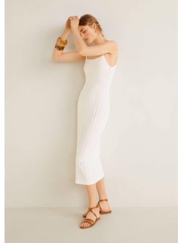 שמלת מידי בטקסטורת ריב