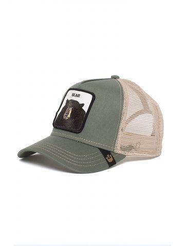 כובע מצחיה עם פאץ' דוב Bear