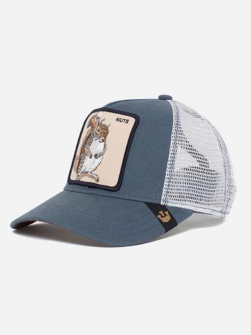 כובע מצחיה עם פאץ' סנאי Nuts / בנים