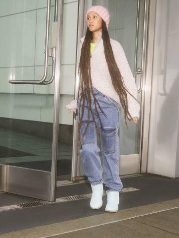 ג'ינס בסגנון דגמ״ח BDG