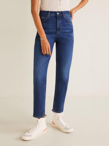 ג'ינס Mom בשטיפה כהה