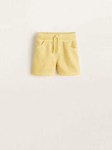 מכנסי טרנינג ברמודה עם גומי במותן / בייבי בנים