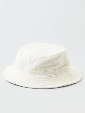 כובע באקט ג'ינס בשטיפה בהירה / נשים