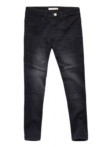 ג'ינס סקיני עם תיפורים בולטים / בנים
