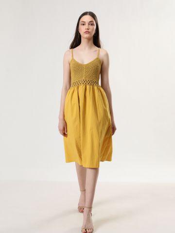 שמלת מידי בשילוב קרושה