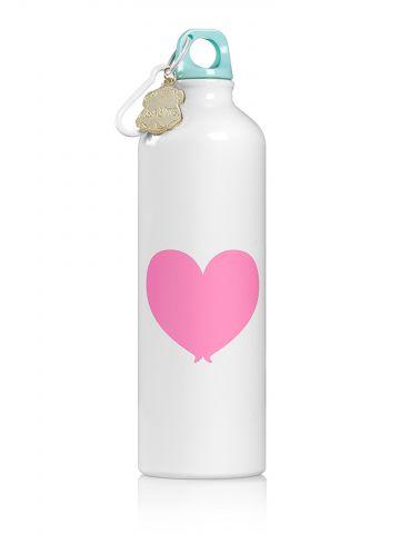 בקבוק שתייה תרמי בעיטור לב / בנות