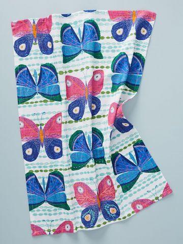 מגבת מטבח בהדפס פרפרים Paule Marrot