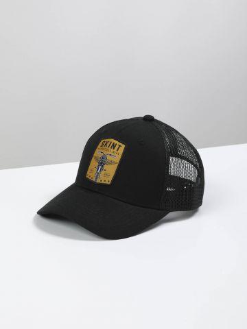 כובע מצחייה עם הדפס אופנוע / גברים