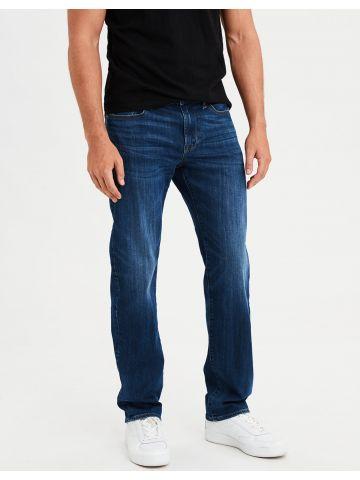 ג'ינס בגזרה ישרה עם שפשופים Original Straight