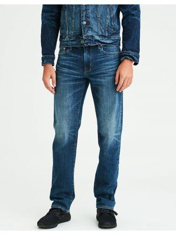 ג'ינס בגזרה ישרה עם ווש Original Straight