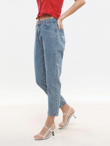 ג'ינס Mom בגזרה גבוהה