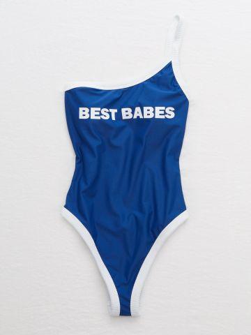 בגד ים שלם וואן שולדר Best Babes / נשים