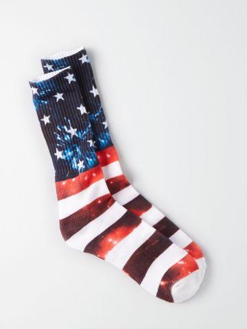 גרביים מעל הקרסול USA / גברים