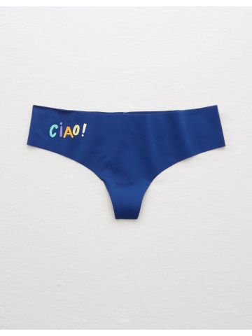 תחתוני חוטיני ללא תפרים עם הדפס Ciao!