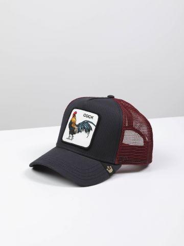 כובע מצחיה עם פאץ' תרנגול Cock