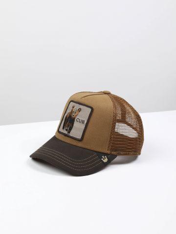 כובע מצחיה עם פאץ' דוב Cub / בנים
