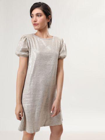 שמלת פאייטים מיני