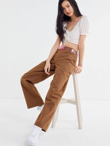 מכנסי צ'ינו רחבים UO Emma