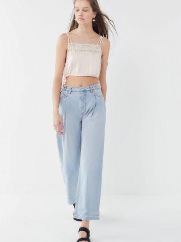 ג'ינס ישר בגזרה רחבה BDG