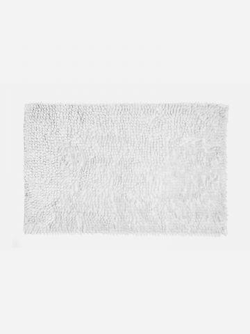 שטיח אמבט לבן נצנצים של LALINE