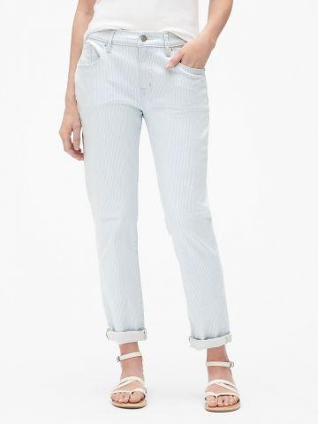 מכנסיים בהדפס פסים Girlfriend של GAP