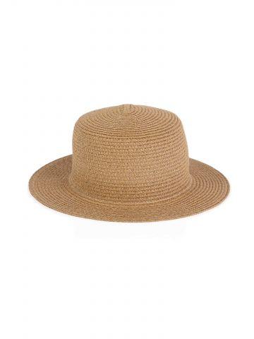 כובע קש מנייר ממוחזר