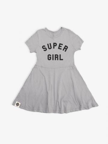 שמלת טי שירט Super girl / בנות