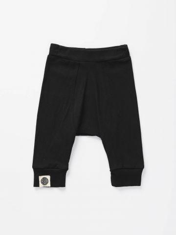 מכנסיים ארוכים עם מנג'טים בסיומת/ בייבי בנים