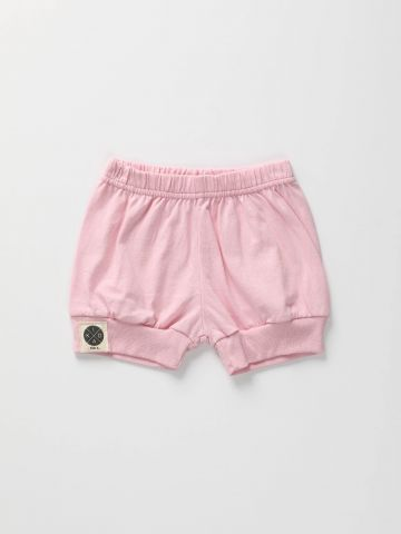 מכנסיים קצרים עם מנג'טים/ בייבי בנות