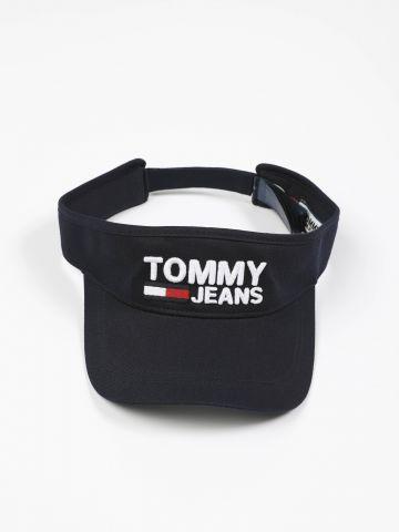 כובע מצחייה ללא ראש עם רקמת לוגו של TOMMY HILFIGER