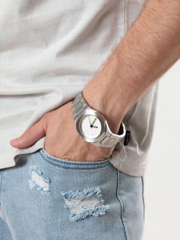 שעון חוליות מאט עם מחוגים Scorpios / גברים