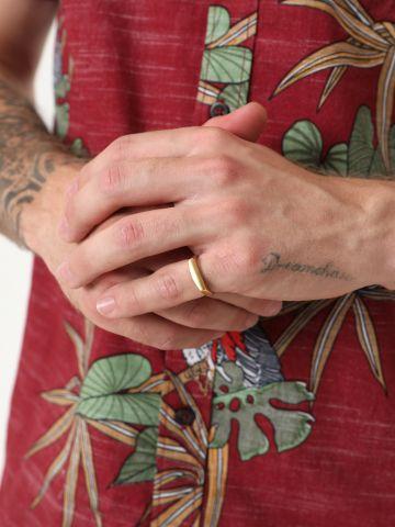 טבעת מתכת מאט