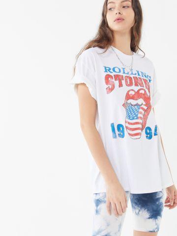 טי שירט עם הדפס Rolling Stones Tour UO