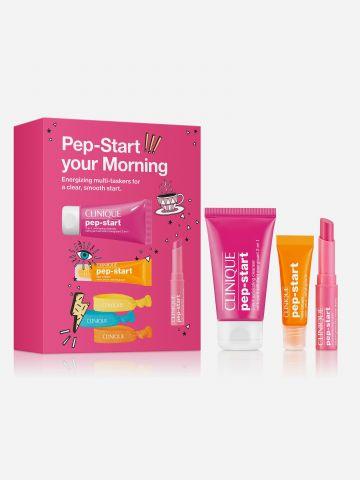 מארז בוקר לטיפוח הפנים Pep Start your Morning