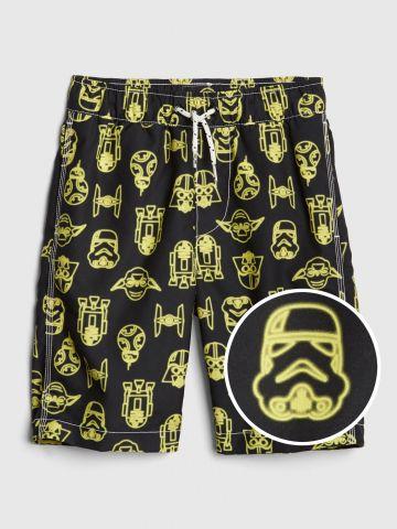 מכנסי בגד ים בהדפס Star Wars / בנים