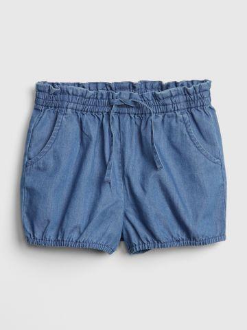 מכנסיים קצרים דמוי ג'ינס / בנות