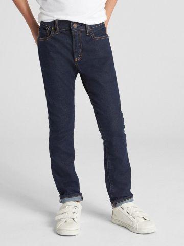 ג'ינס סקיני סטרץ' בשטיפה כהה Superdenim / בנים