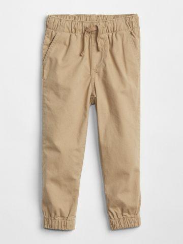 מכנסי קנבס ארוכים עם כיסים / בייבי בנים