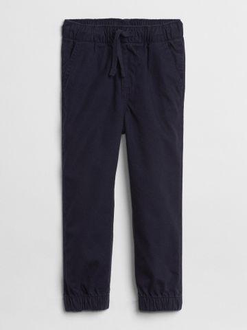 מכנסי קנבס ארוכים עם כיסים / 12M-5Y של GAP