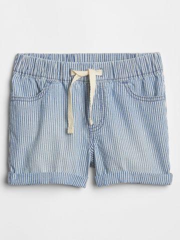 מכנסיים קצרים בהדפס פסים / בנים