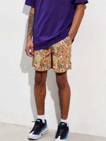 מכנסי בגד ים בהדפס פרחים Katin X UO