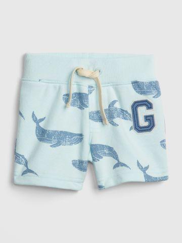 מכנסיים קצרים בהדפס כרישים / בייבי בנים