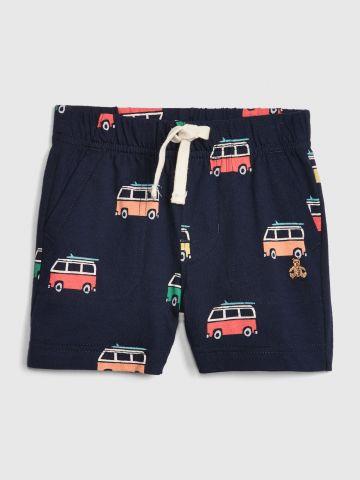 מכנסיים קצרים בהדפס קראוונים / בייבי בנים