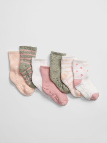 מארז 7 זוגות גרביים / בייבי בנות